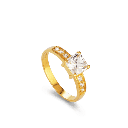 - 22ct Asian Engagement Ring