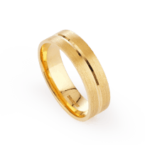 23824-2 - 22ct Gold Ring Band