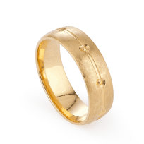23824-3 - 22ct Gold Wedding band