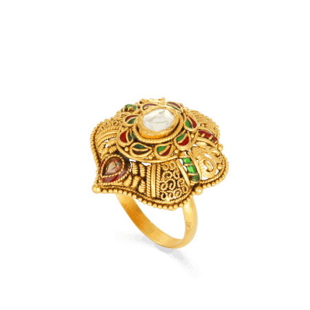 27612 - 22ct Gold Ladies Ring