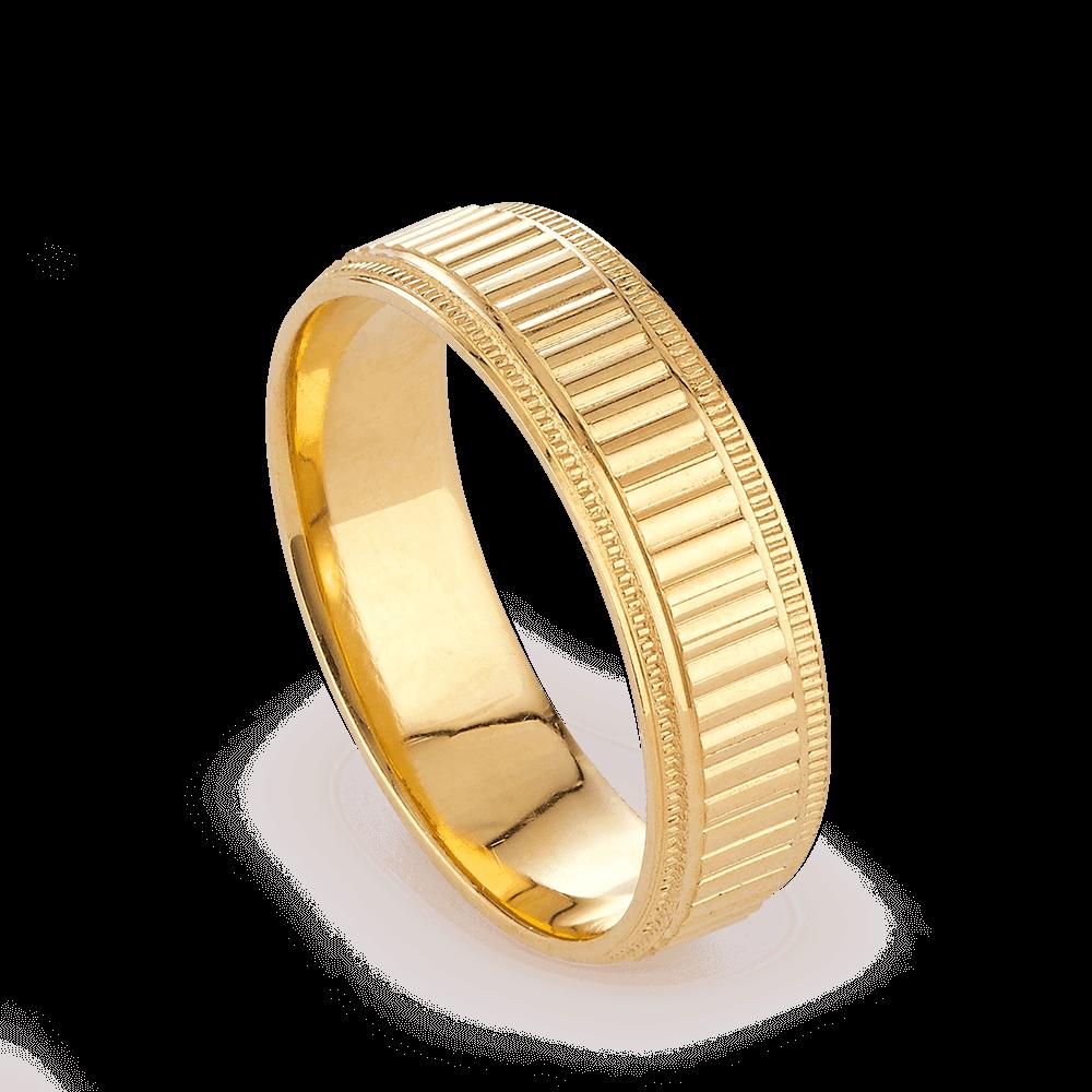 27846 - 22ct Gold wedding Ring Band