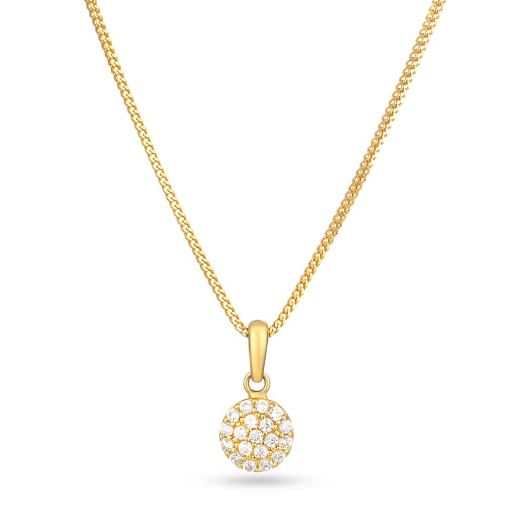 27855 - 22ct Gold Pendant