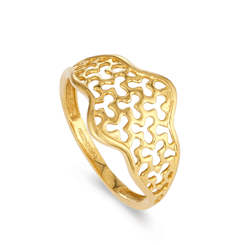 28014 - 22ct Womens Gold Ring