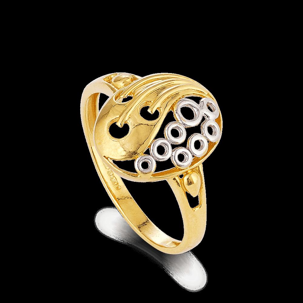 28015 - 22ct Gold Ladies Ring