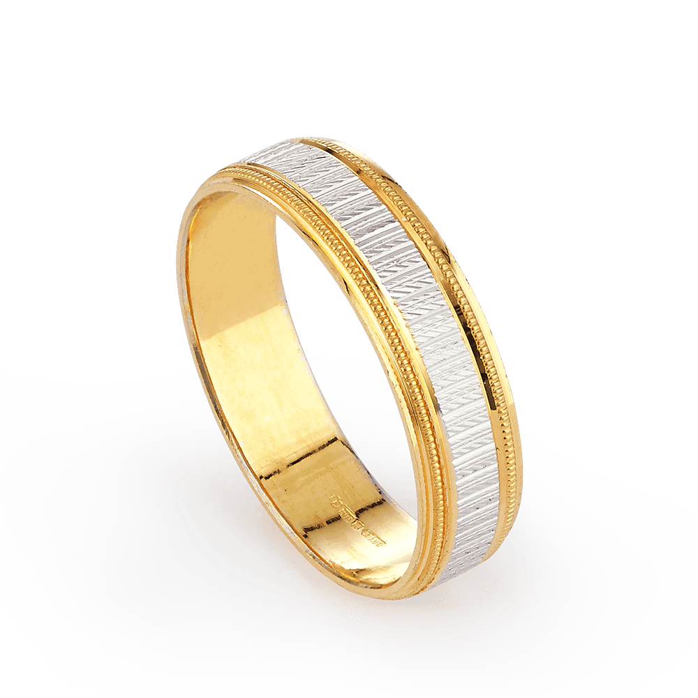 28083 - 22ct Gold Ring Band