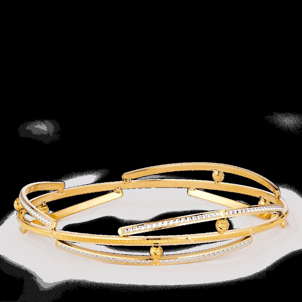 28149 - 22ct Gold Kada Bangle