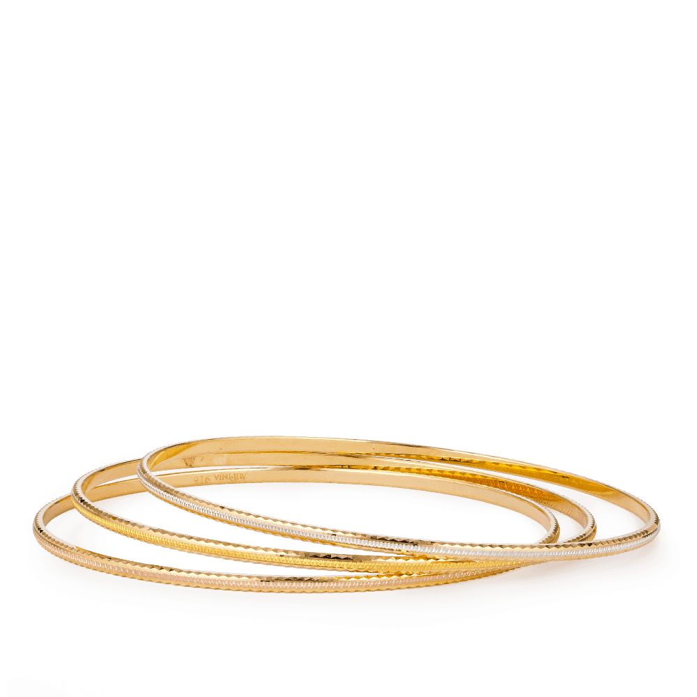 28168 - 22ct Gold Daily Wear Bangle
