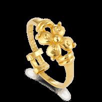 408 - 22ct Gold Ladies Ring