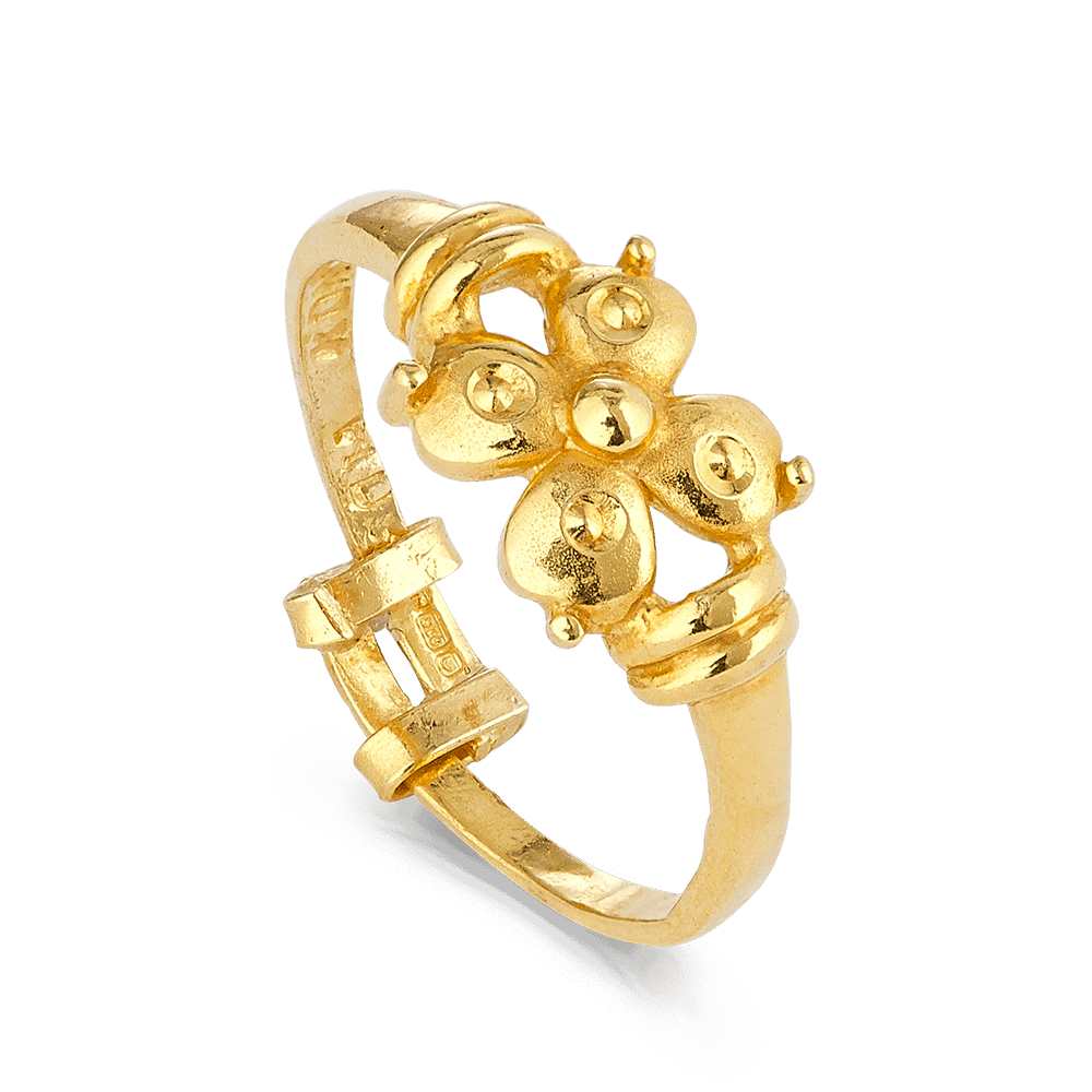 408 - 22ct Gold Ladies Ring