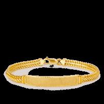 19390 - 18ct Gold Men's Bracelet