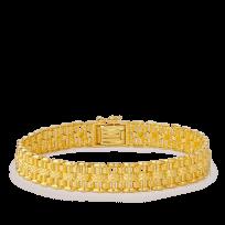 20838 - 22ct Men's gold bracelet