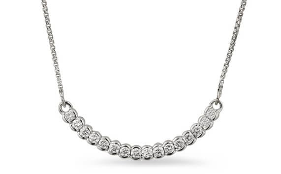 white gold jewellery sets
