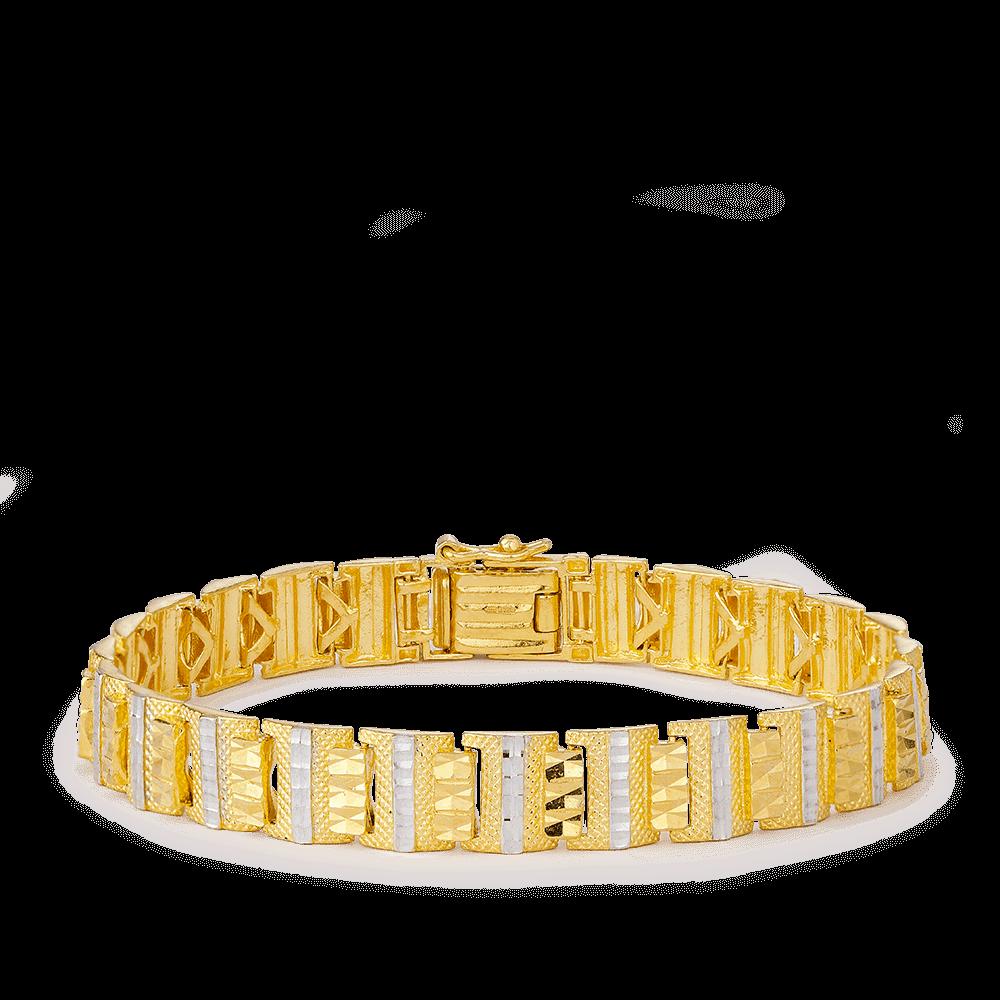 24098 - 22ct Gold Bracelets For Men