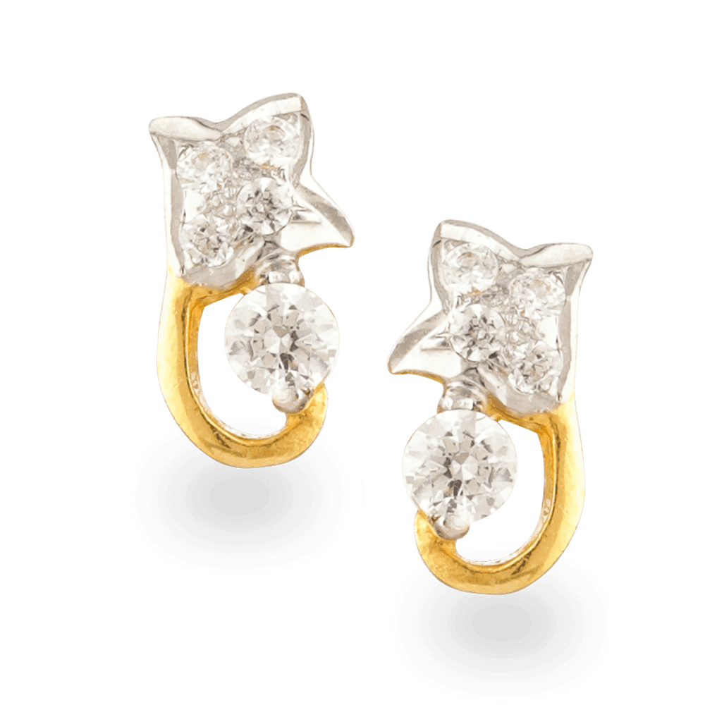 24432 - 22ct Gold Earring