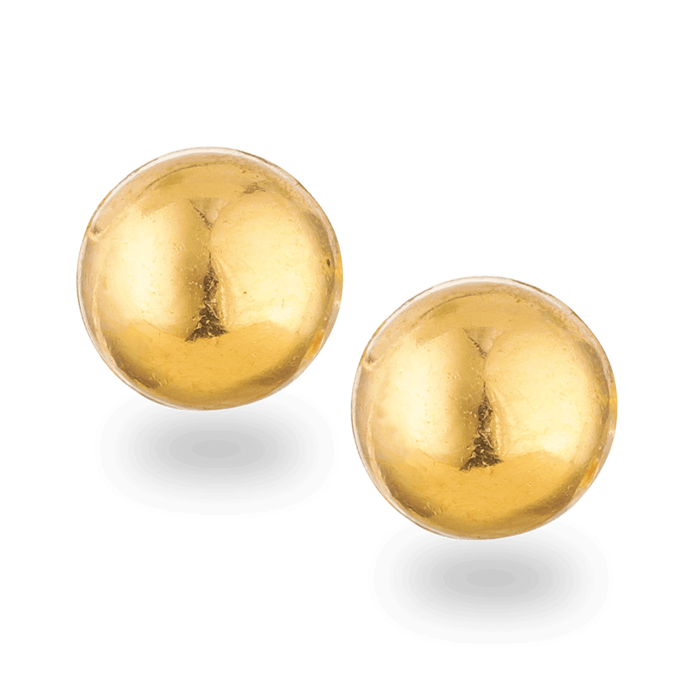 24838 - 22ct Gold Stud Earring