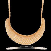 25618 - Anusha 22ct Gold Polki Bridal Necklace