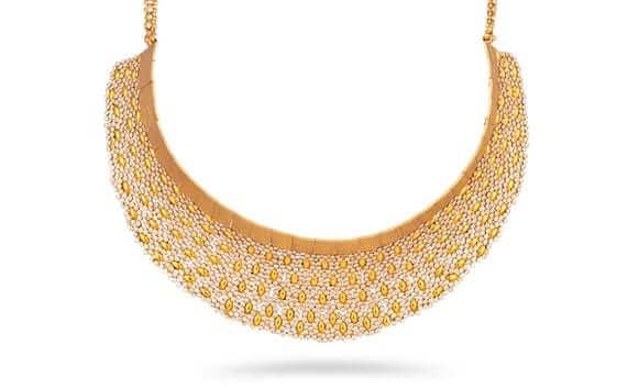 - Diya 22ct Gold Uncut Polki Diamond Bridal Earrings