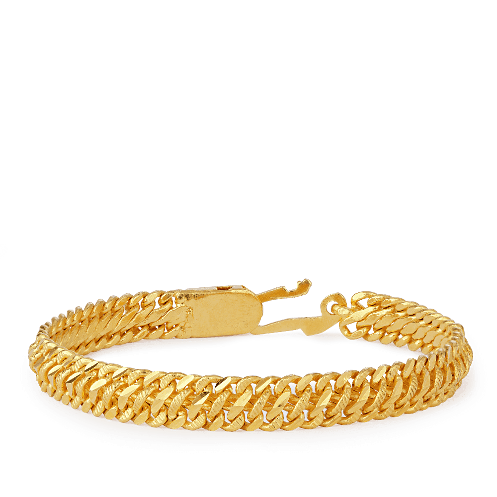 26320 - 22ct Gold Men's Bracelet