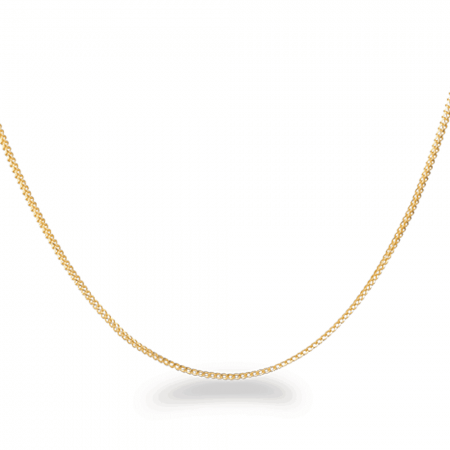 28946 - 22ct Gold Foxtail Chain in 16 inches
