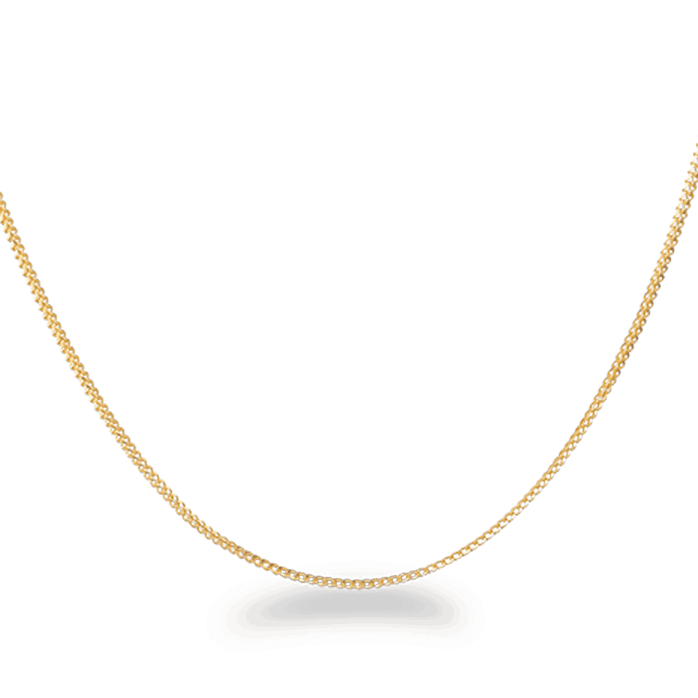31817, 31822, 31823, 31832, 31833, 31834 - 22ct Gold Foxtail Chain in 16 inches
