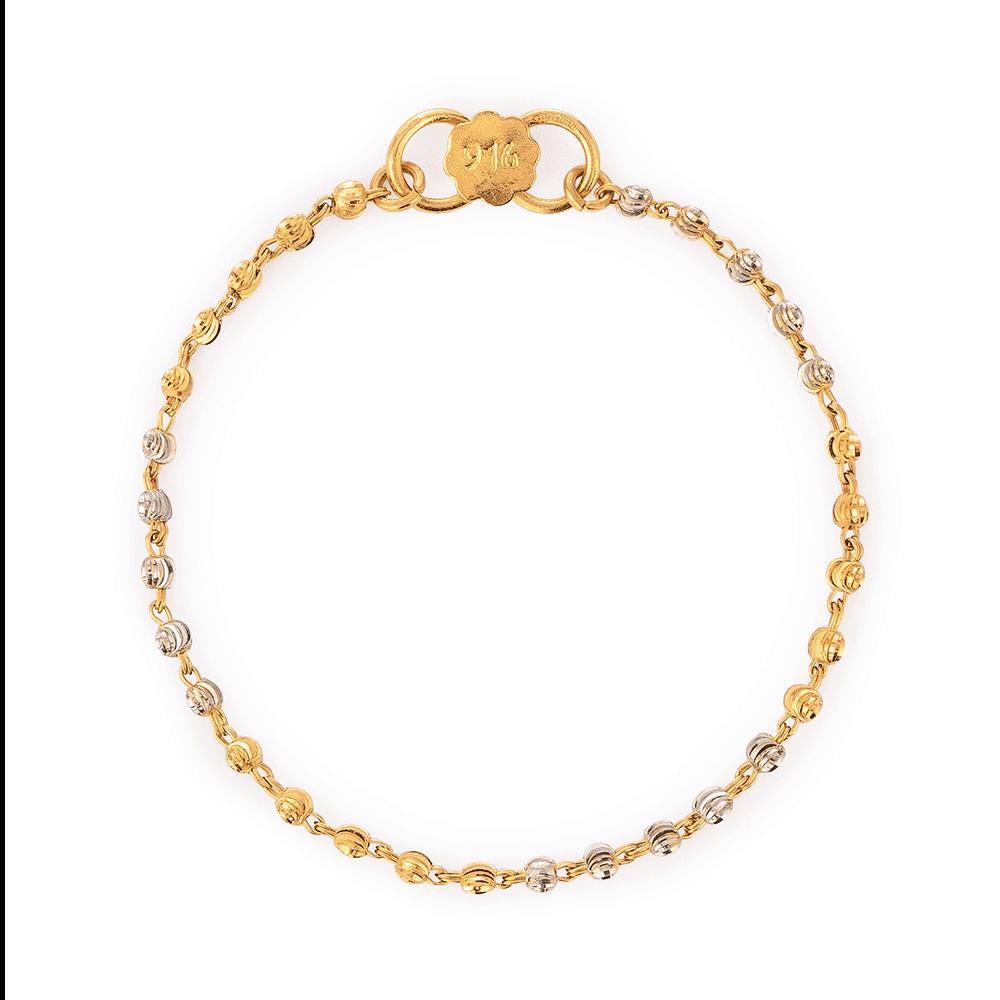 26917 - 22ct Gold Baby Bracelet