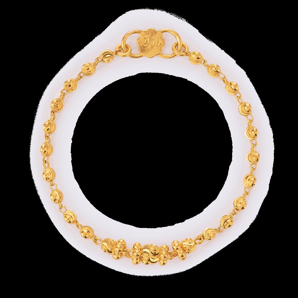 26918 - 22ct Gold Baby Bracelet