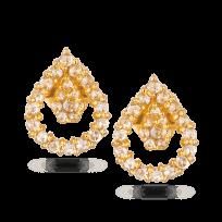 31002 - Diya 22ct Gold Stud Earring
