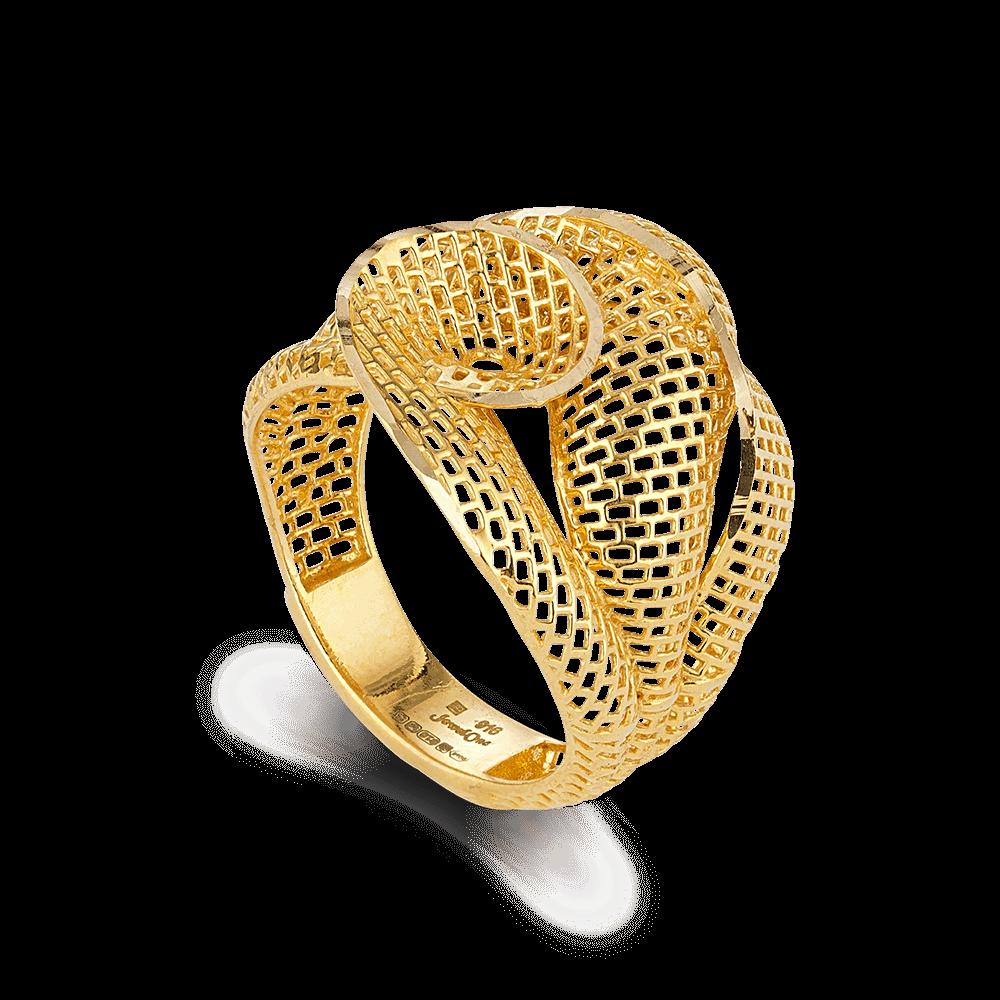 27164 - 22k Yellow Gold Ring