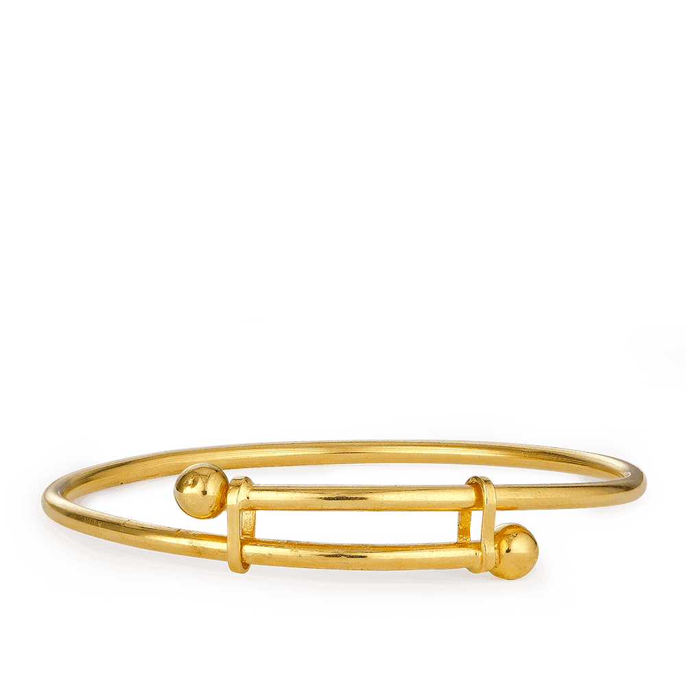 27388 - 22ct Gold Girls and Boys Baby Bangle