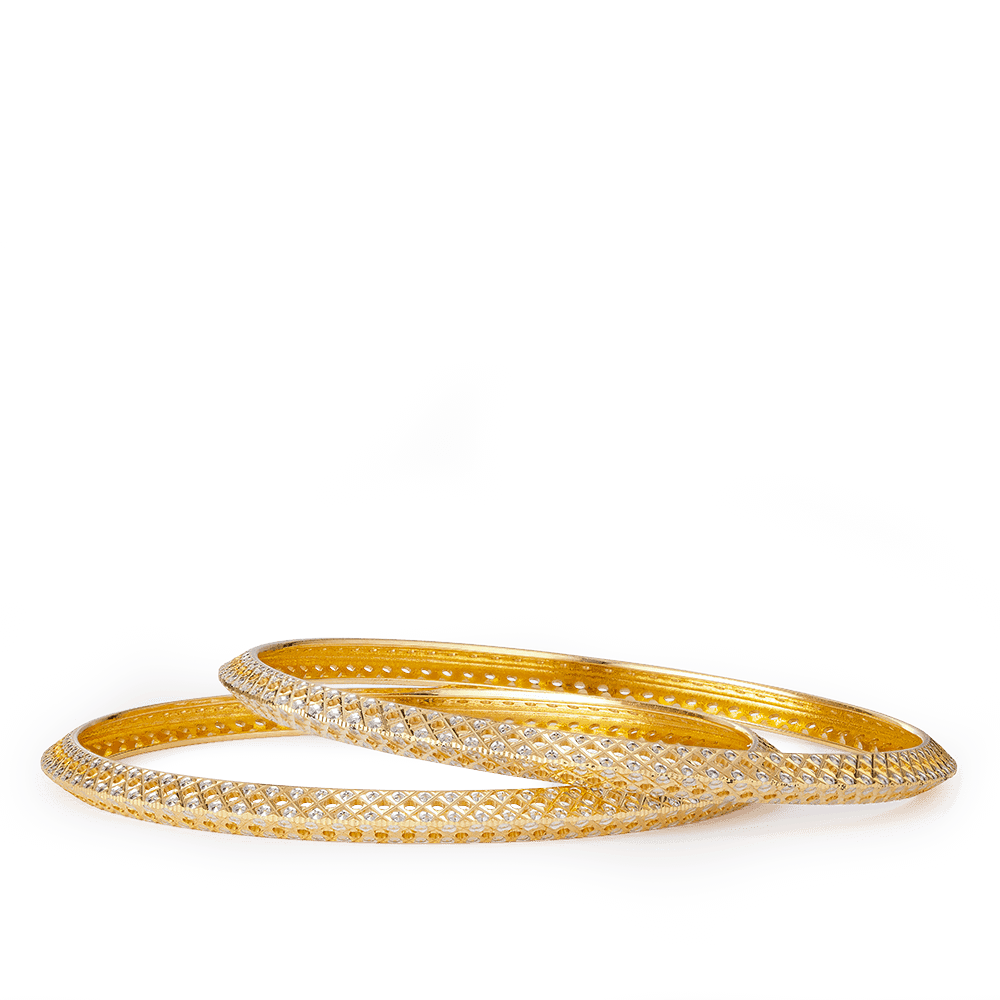 27630, 27631 - 22ct Ladies Bangles