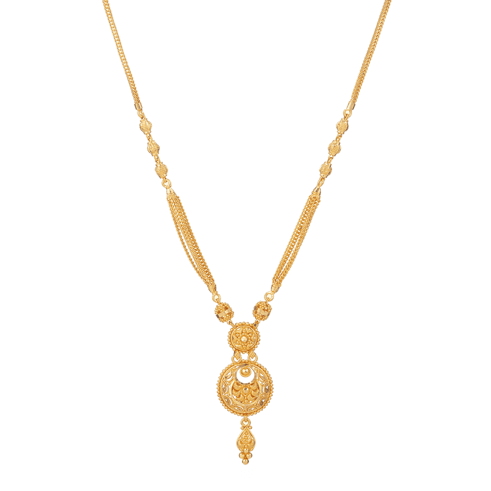 28050 - Bridal Necklace in 22 carat Gold