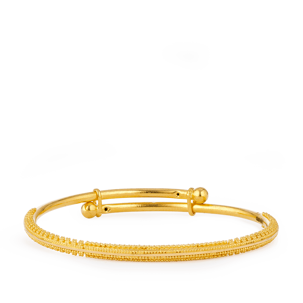 28071 - 22ct Gold Baby Bangle