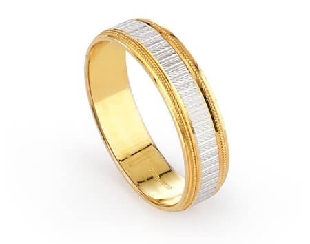 22ct Wedding And Engagement Band