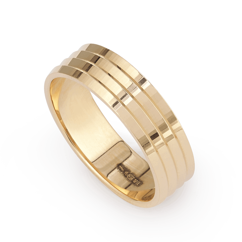 28180 - 22ct Gold Band Ring