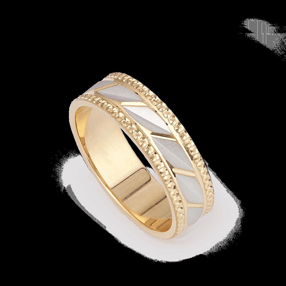 28181 - Indian Wedding Ring In 22 Carat