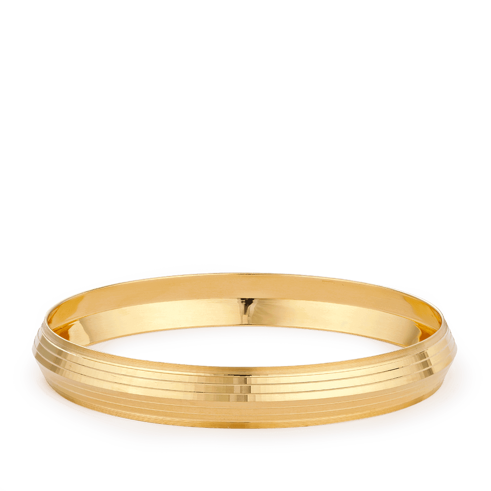 28258 - 22ct Gold Gents Kada