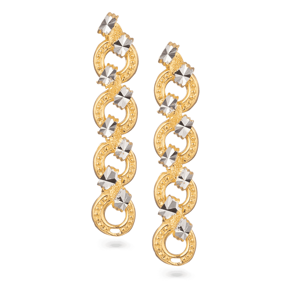 28379 - 22ct Gold Party Earring