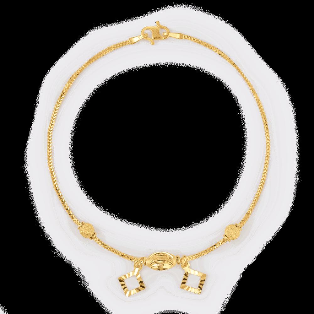 28382 - 22ct Daily Wear Womens Bracelete