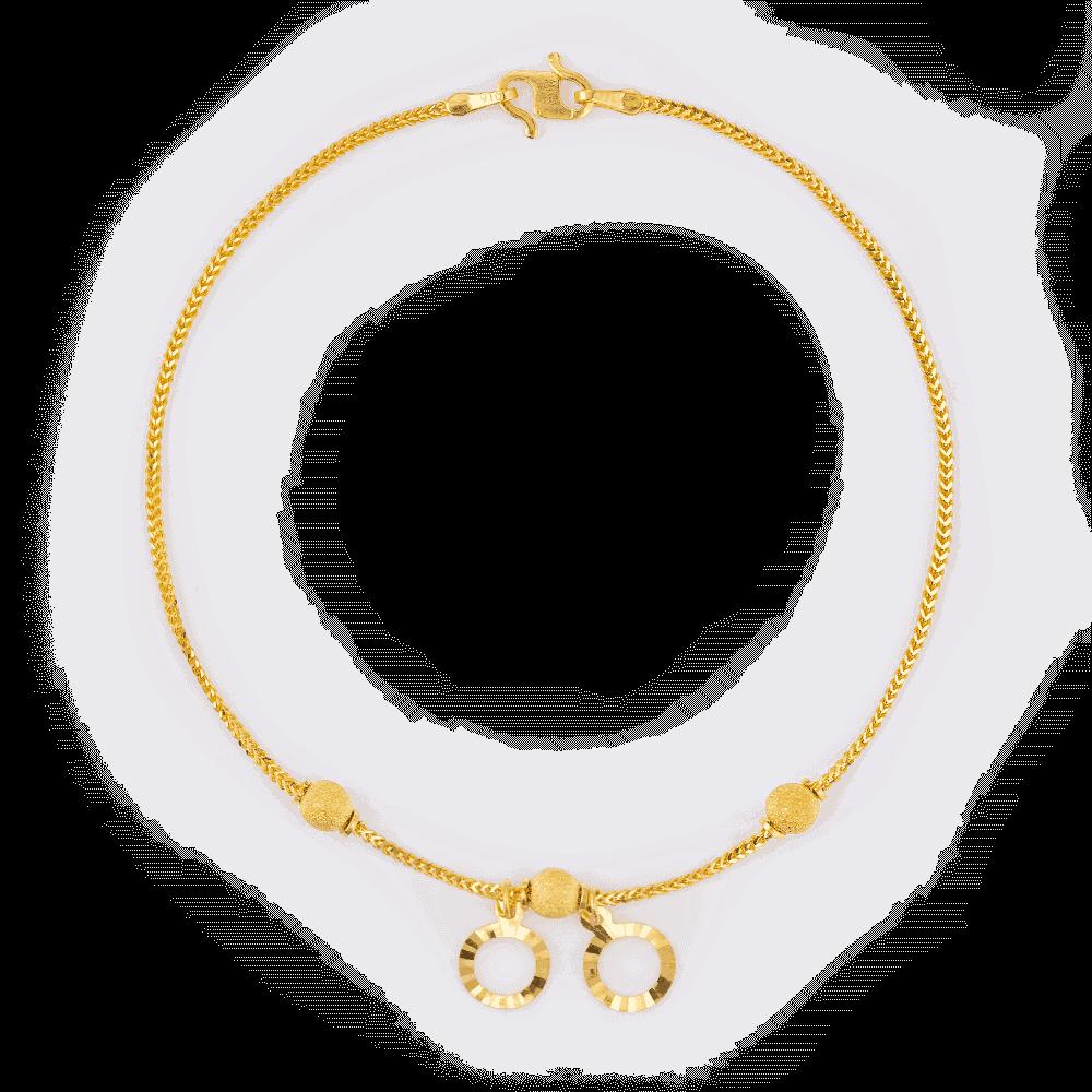 28383 - 22k Gold Girls Bracelet