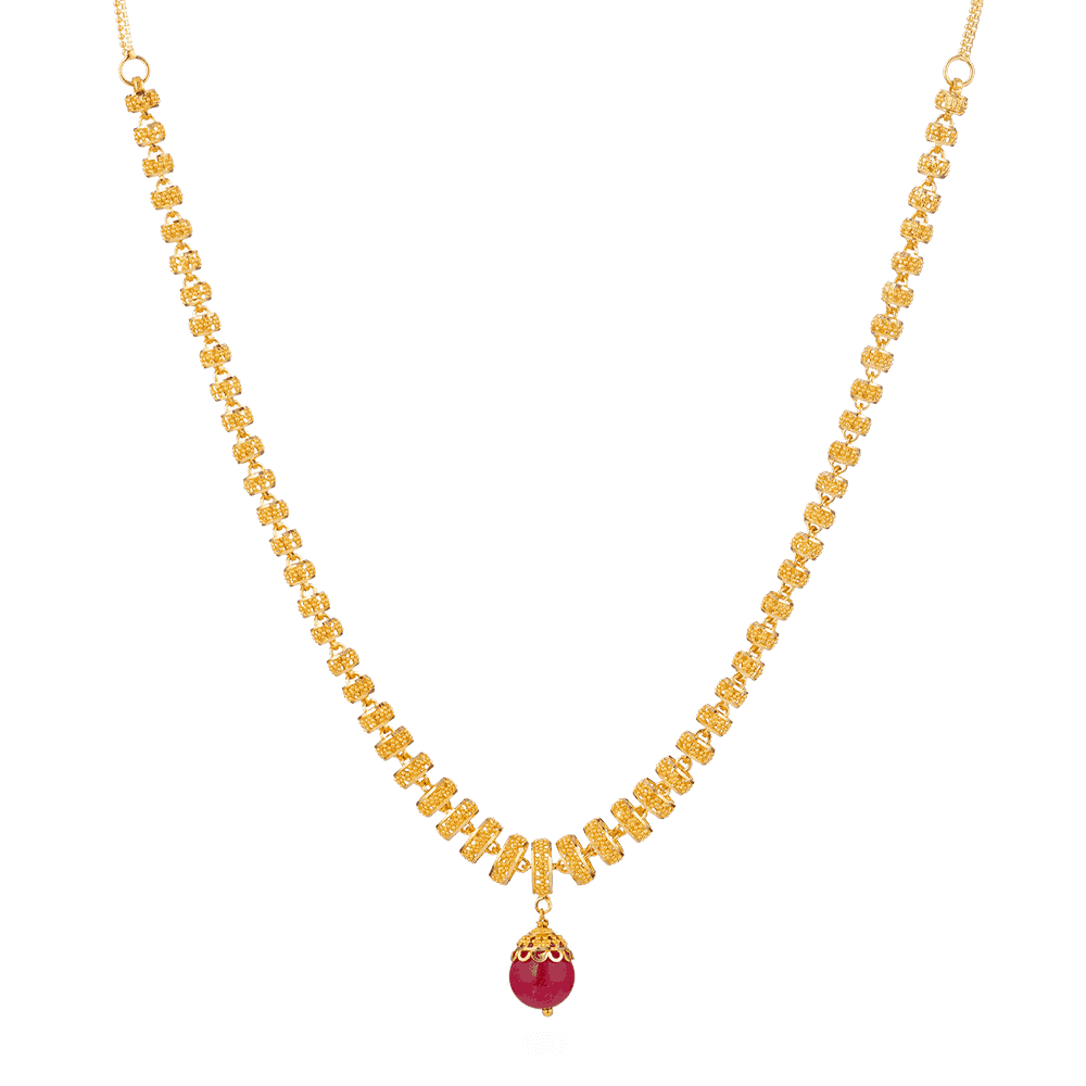 28392 - 22ct Gold Bridal Necklace