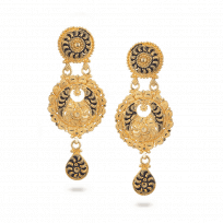 28395 - 22ct Gold Bridal Earring