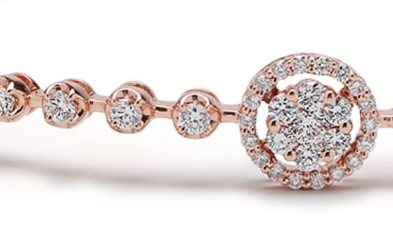 Rose Gold & Diamonds