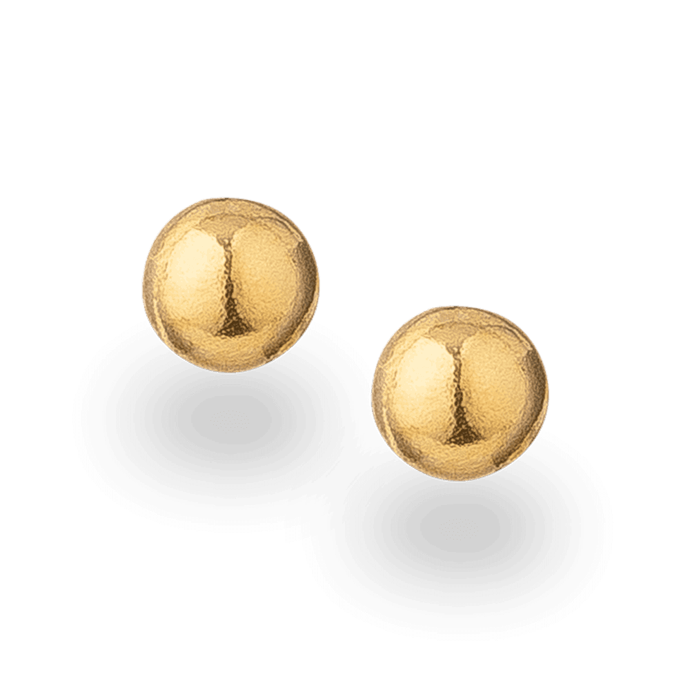 30048 - 22ct Gold Stud Earrings