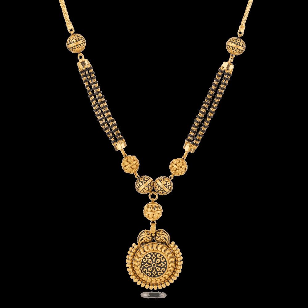 27580 - 22ct Gold Mangalsutra