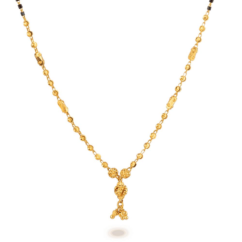 27583 - 22ct Gold Mangalsutra