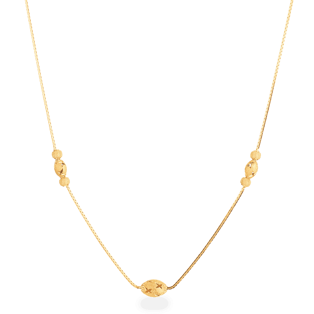 27992 - 22ct Gold Choker Necklace
