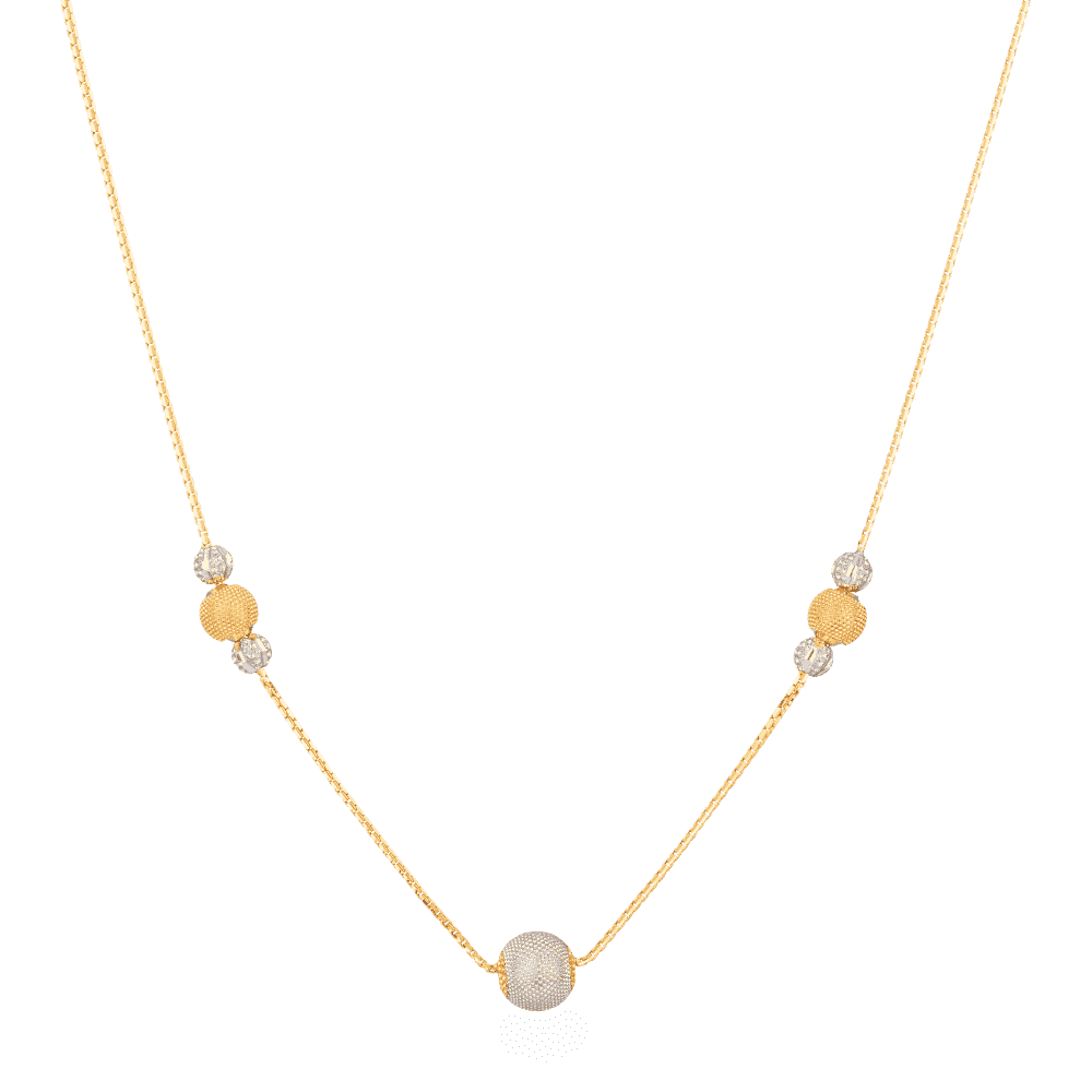 27993 - 22ct Gold Choker Necklace