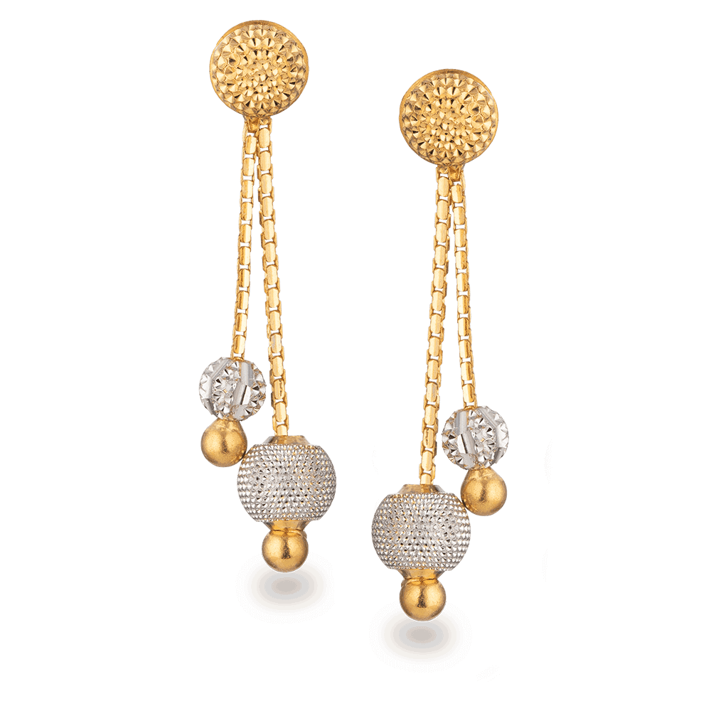 28006 - 22ct Gold Earring