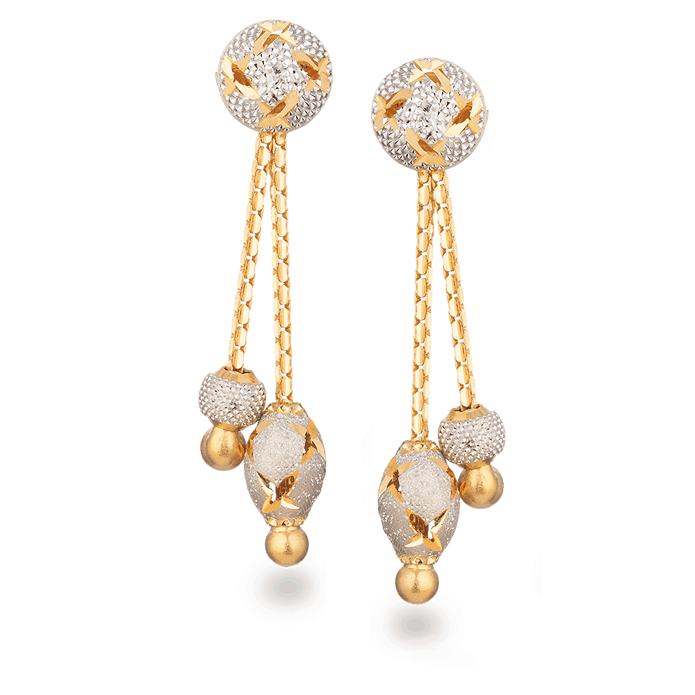 28006_2 - 22ct Gold Earring