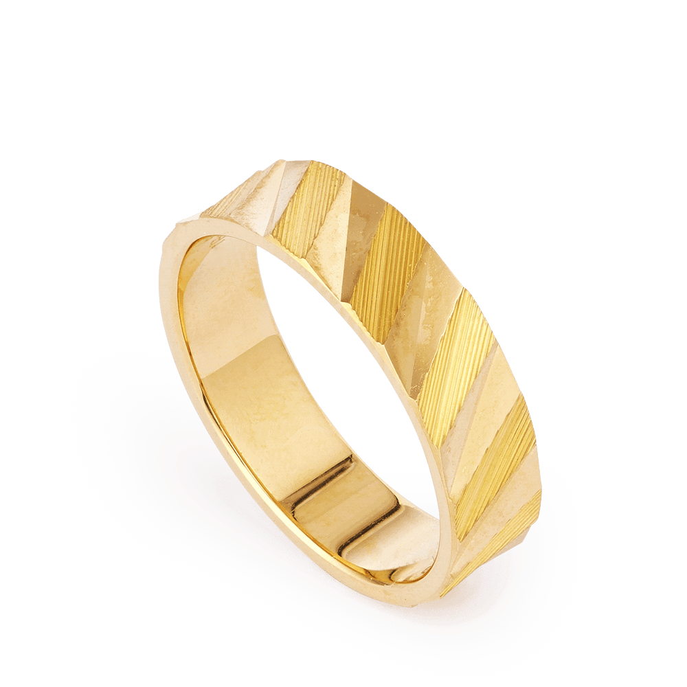 28191 - 22ct Gold Band Ring
